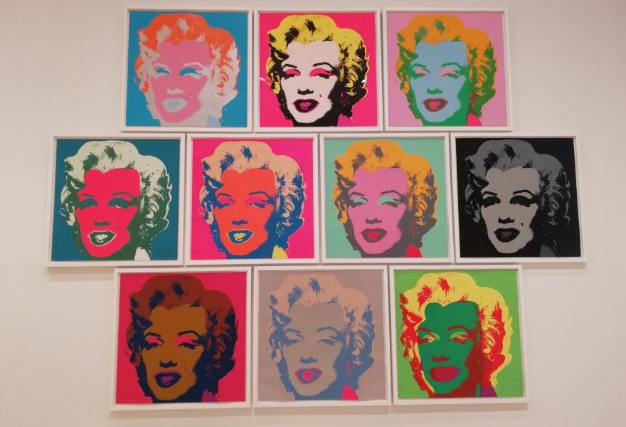 Andy Warhol's Marylin
