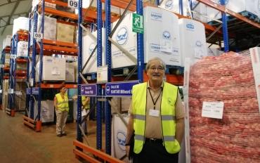 Fernando Santos, Subdirector del Banco de Alimentos