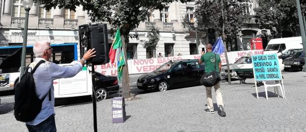 Protestas en Lisboa