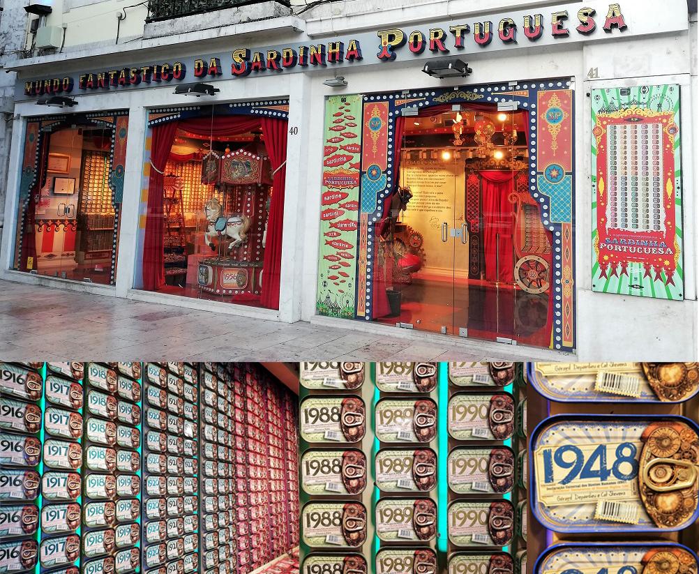 Mundo Fantástico de la Sardina Portuguesa