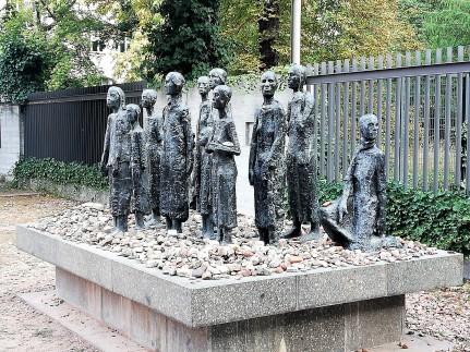 Monumento a las víctimas del holocausto.