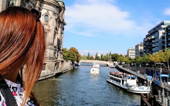 Vista desde la Catedral de Berlin.