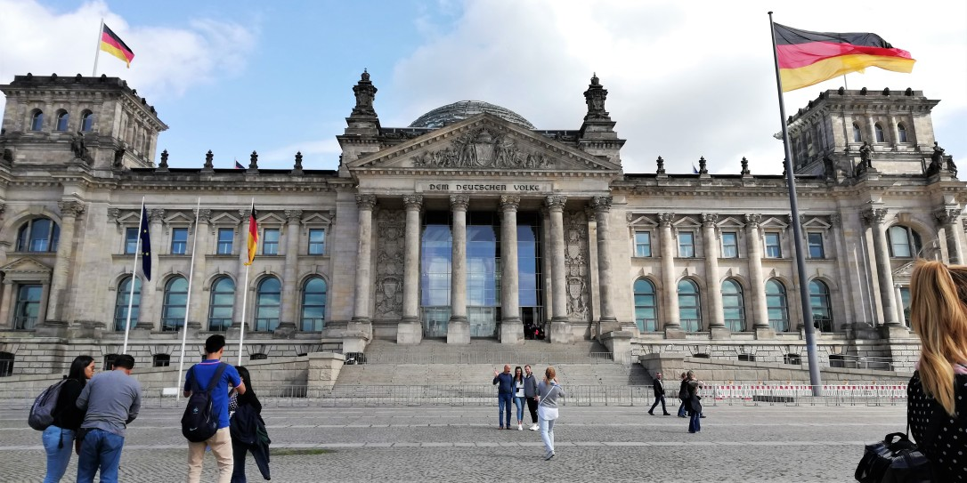 Reichstag, el Parlamento Alemán.