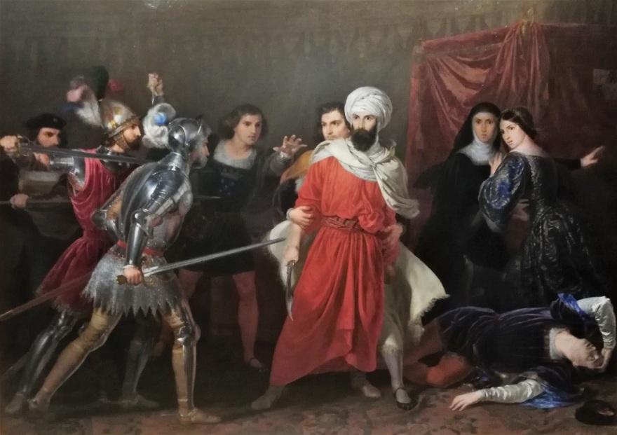 Rafael Tegeo, 'Episodio de la Conquista de Málaga'