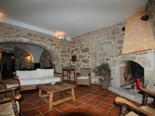 Interior de la Casa del Conde- Santa Cruz de la Sierra España