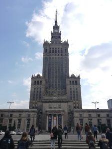 Varsovia - Palacio de la Cultura y de la Ciencia