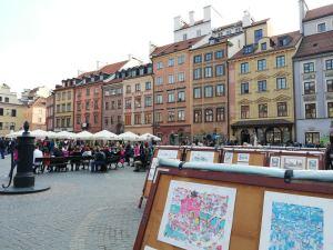 Plaza del Mercado - Varsovia
