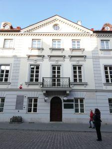 Casa de Marie Curie, en Vasovia.